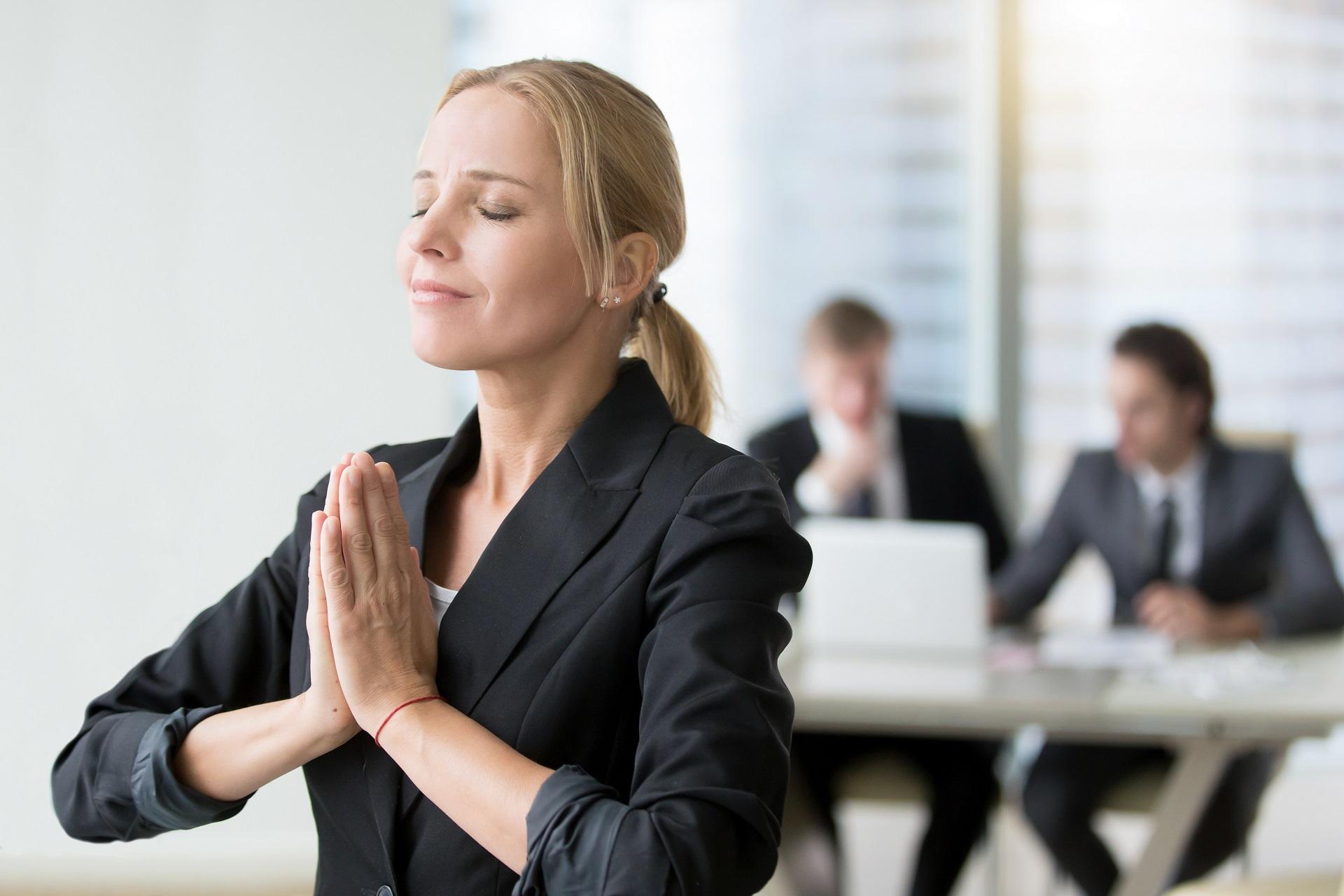 Business Yoga Frankfurt mit Silke Hepting